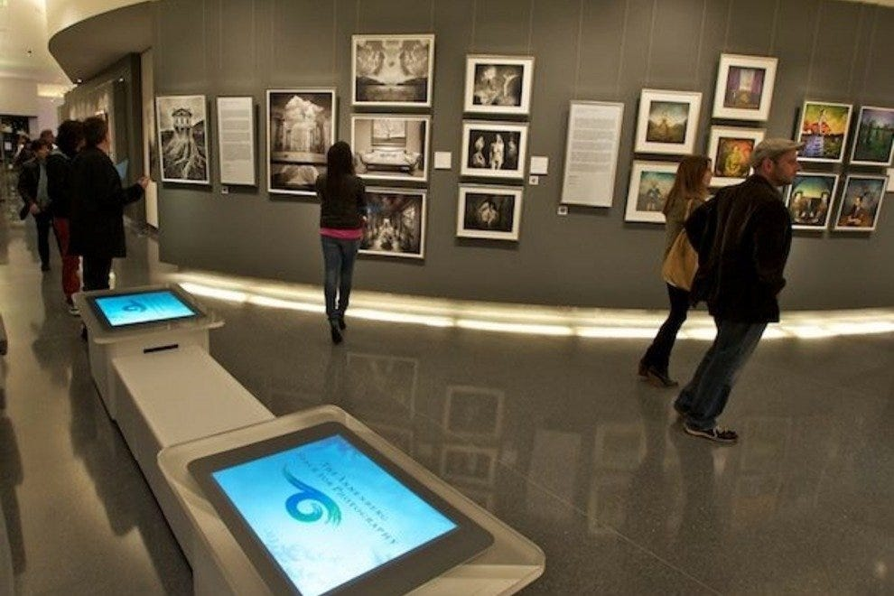 Annenberg Space for Photography Interior Exhibits