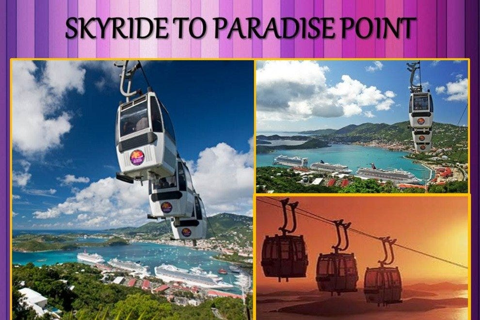 St Thomas Virgin Islands Paradise Point Skyride
