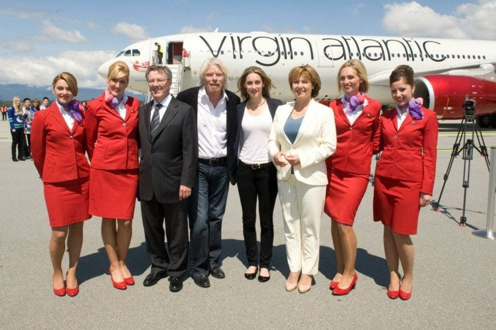 Virgin Atlantic touches down in Vancouver