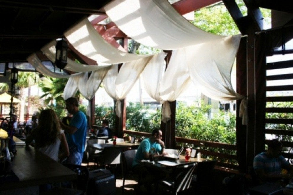 Tabbuli Grill's Outdoor Patio