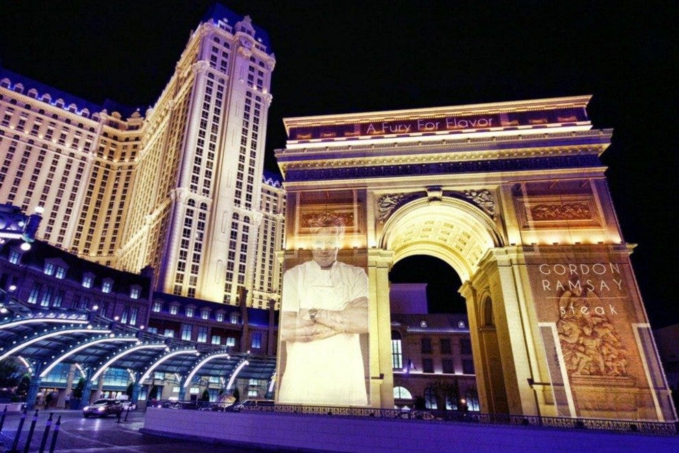 Paris Las Vegas Welcomes Chef Gordon Ramsay