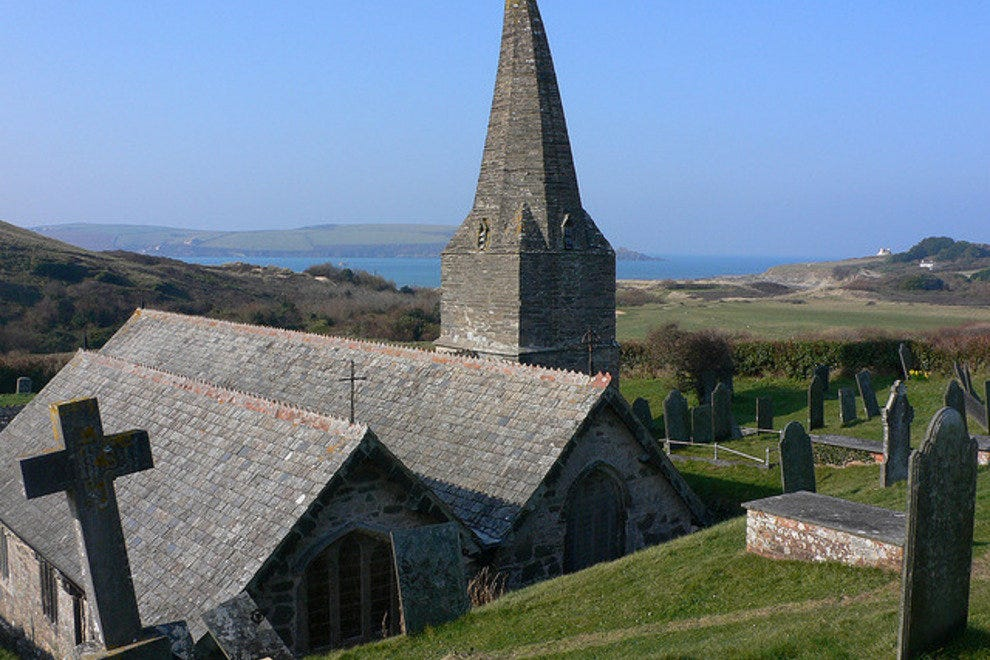 St Enodoc Church, Cornwall