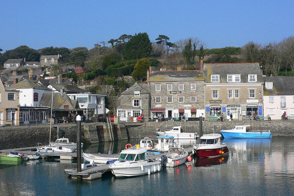 Padstow Harbour, opposite St Enodoc golf course