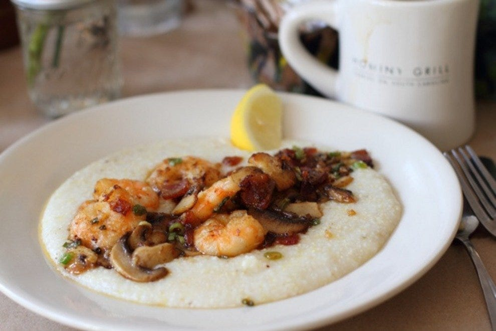 Hominy Grill Shrimp 'N Grits