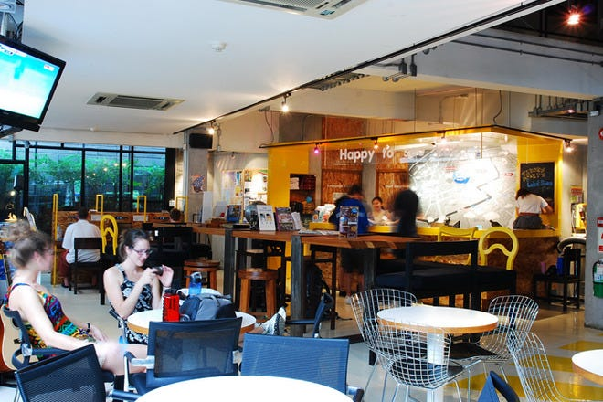 曼谷青年旅社