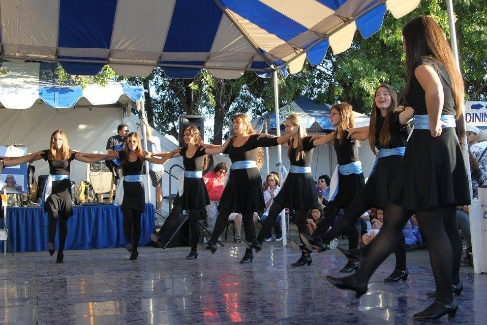 Dancing at Greek Festival