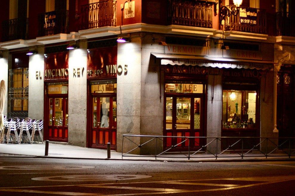 El Anciano Rey De Los Vinos Madrid Nightlife Review