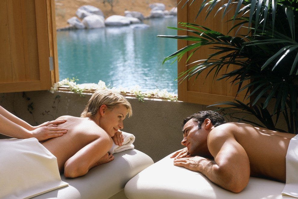 Couples Massage, Palm Springs, Ca