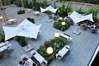 Enjoy Breakfast on the Alma Hotel's Incredible Patio