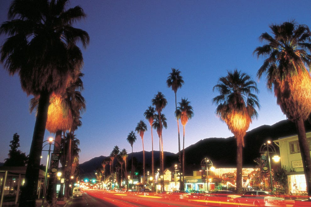 Palm Springs, Ca,  Main Thoroughfare, Palm Canyon Drive