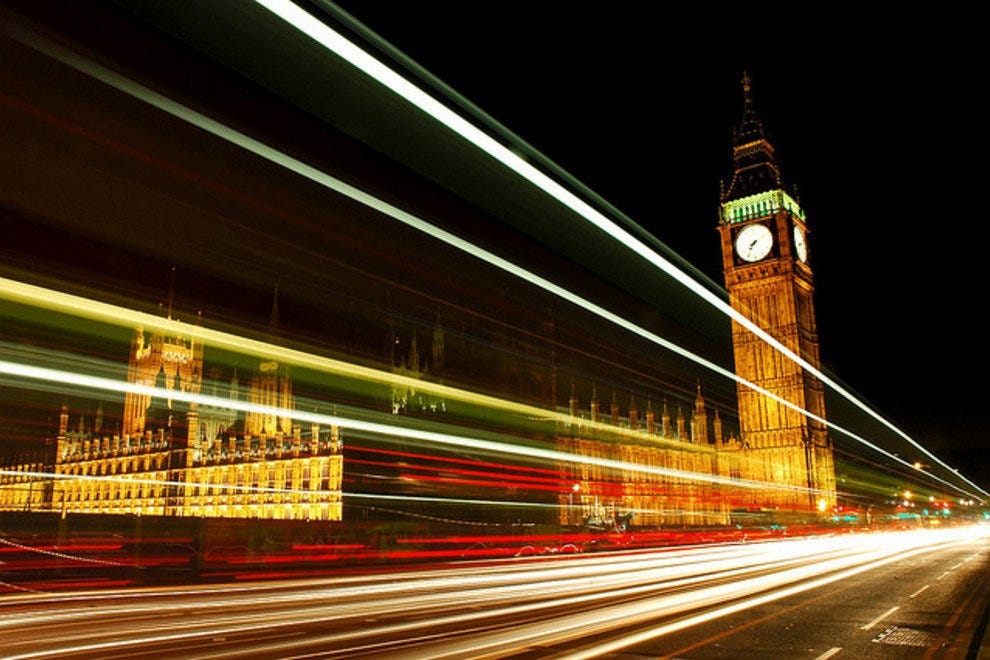 Big Ben and the Palace of Westminster - London, England