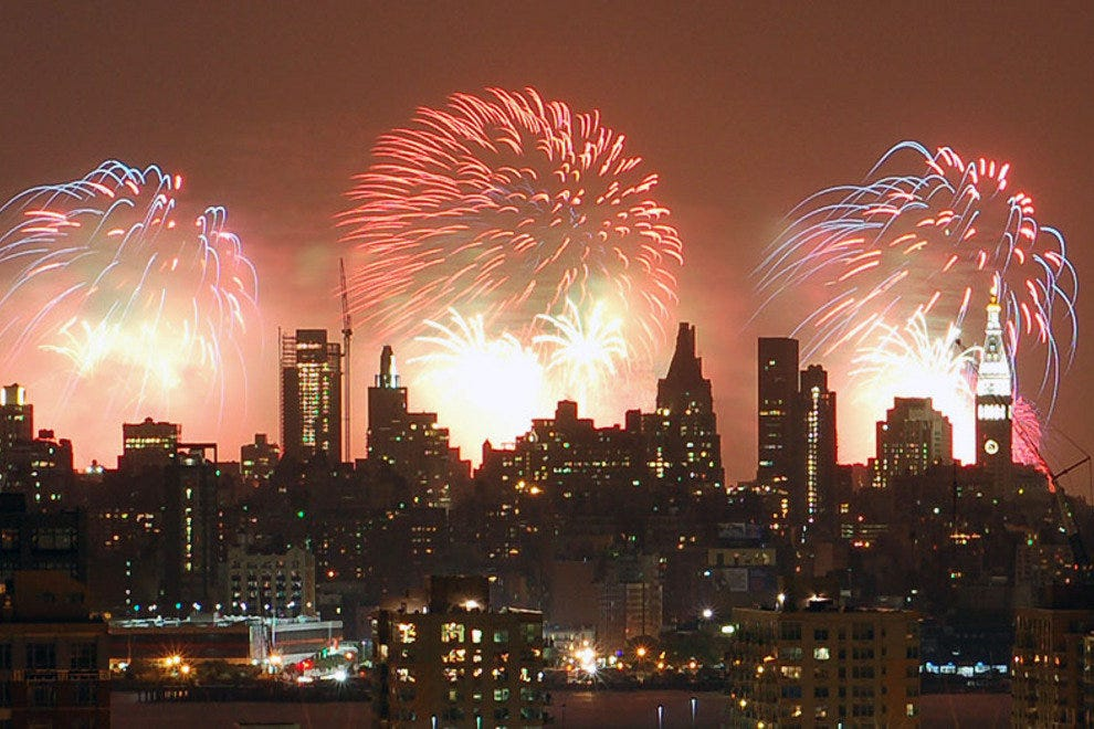 Macy's 4th of July Fireworks - New York City, NY