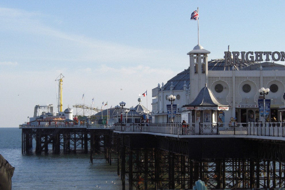 Brighton Pier on the South Coast