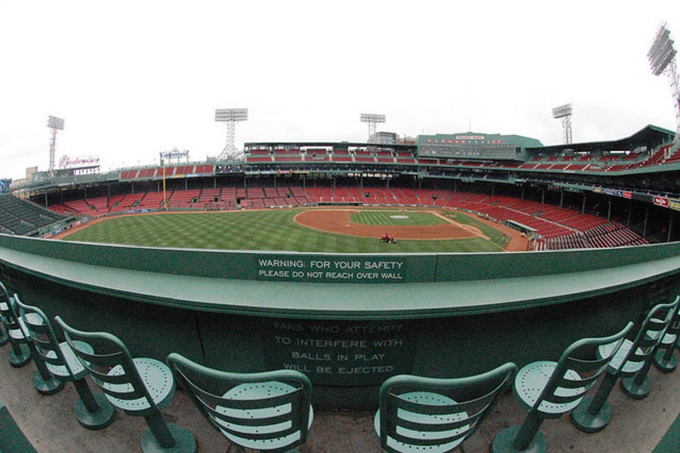 Iconic Baseball Parks Fenway Park Sports Amp Adventure
