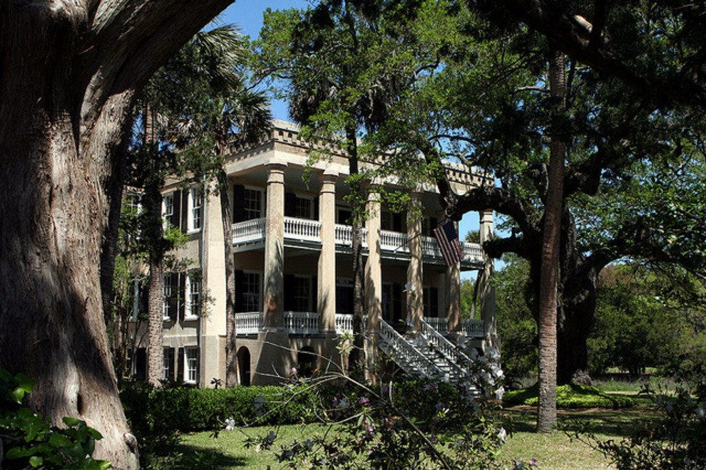 A historic mansion in Beaufort.