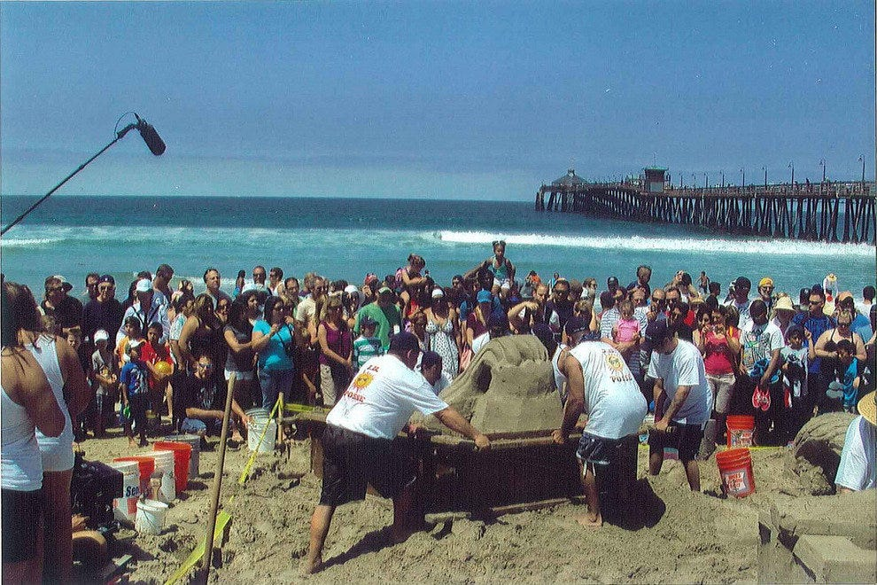 US Open Sandcastle Competition - San Diego, CA