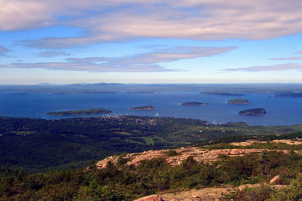Bar Harbor in Acadia National Park