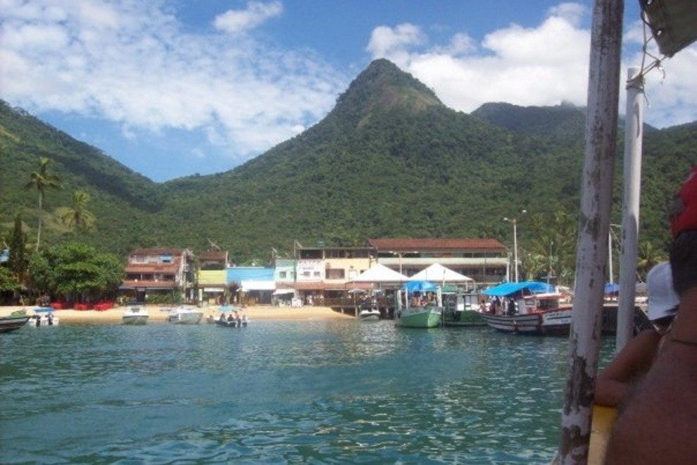 Ilha Grande is the biggest of the Costa Verde's islands