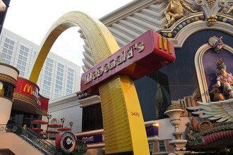 The One-of-a-Kind Metro McDonald's on the Las Vegas Strip