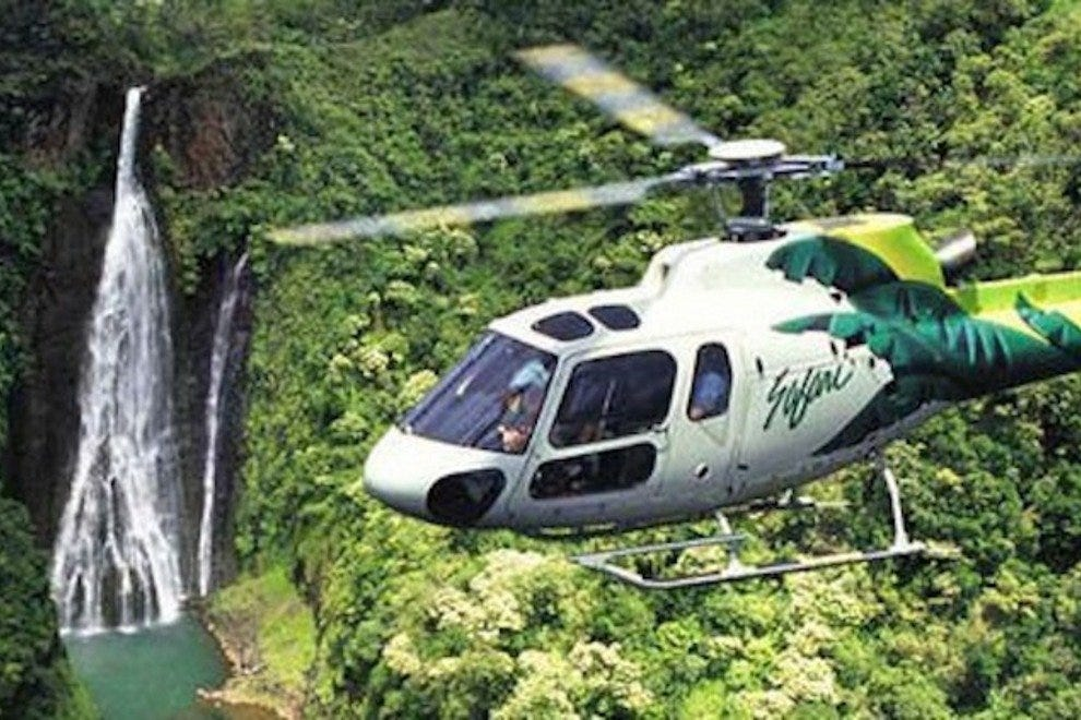 Safari Helicopters Kaua`i Refuge Eco Tour