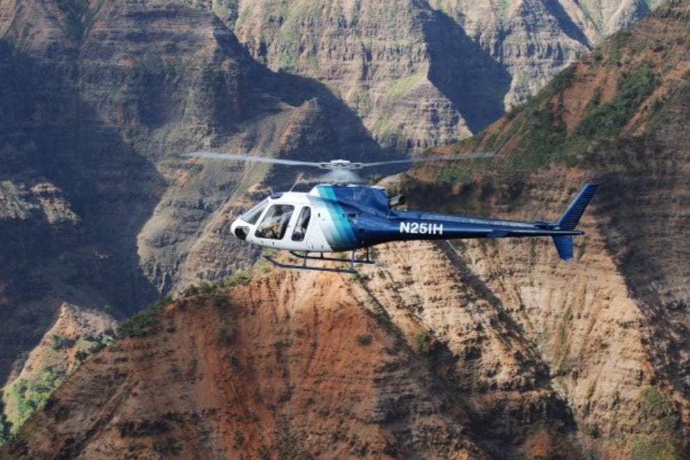 Island Helicopters Jurassic Falls Tour Kauai Attractions