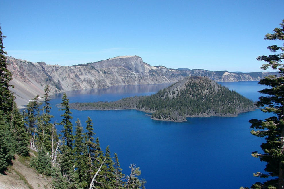 Crater Lake National Park offers stunning views and adventuresome swimming