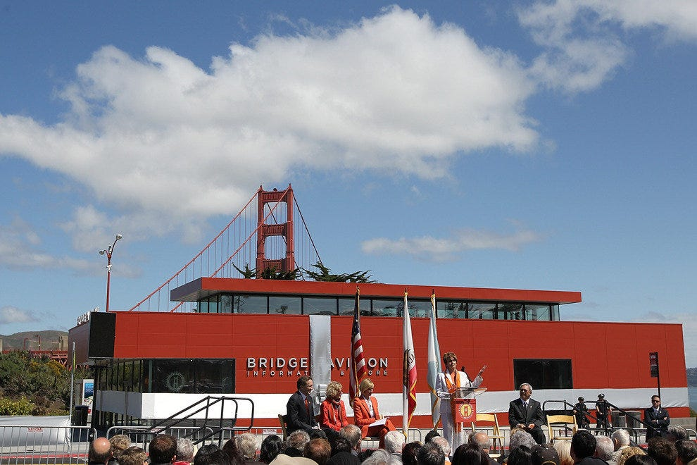 Bridge Pavillion Center, Opening Ceremonies