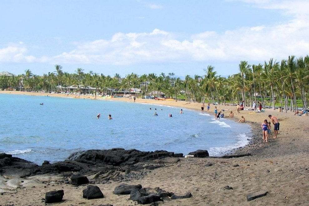 Anaeho'omalu Bay and Waikoloa Beach