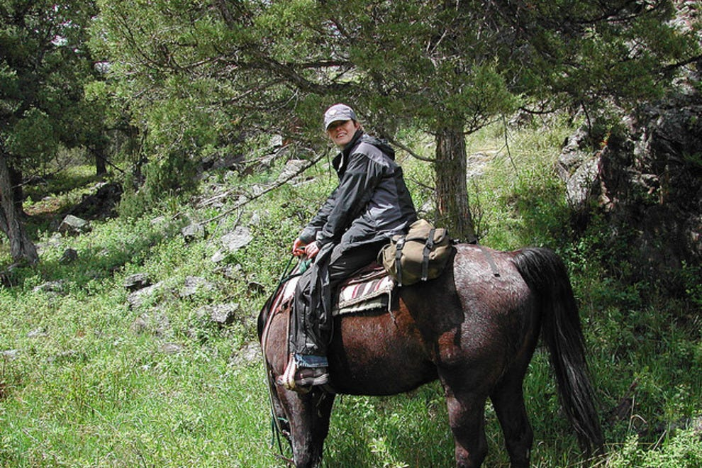 Yellowstone by horseback