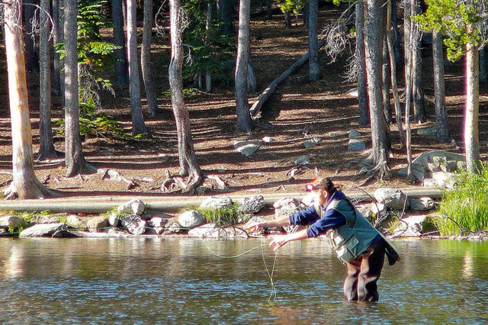 Reel in a great catch at Rocky Mountain National Park