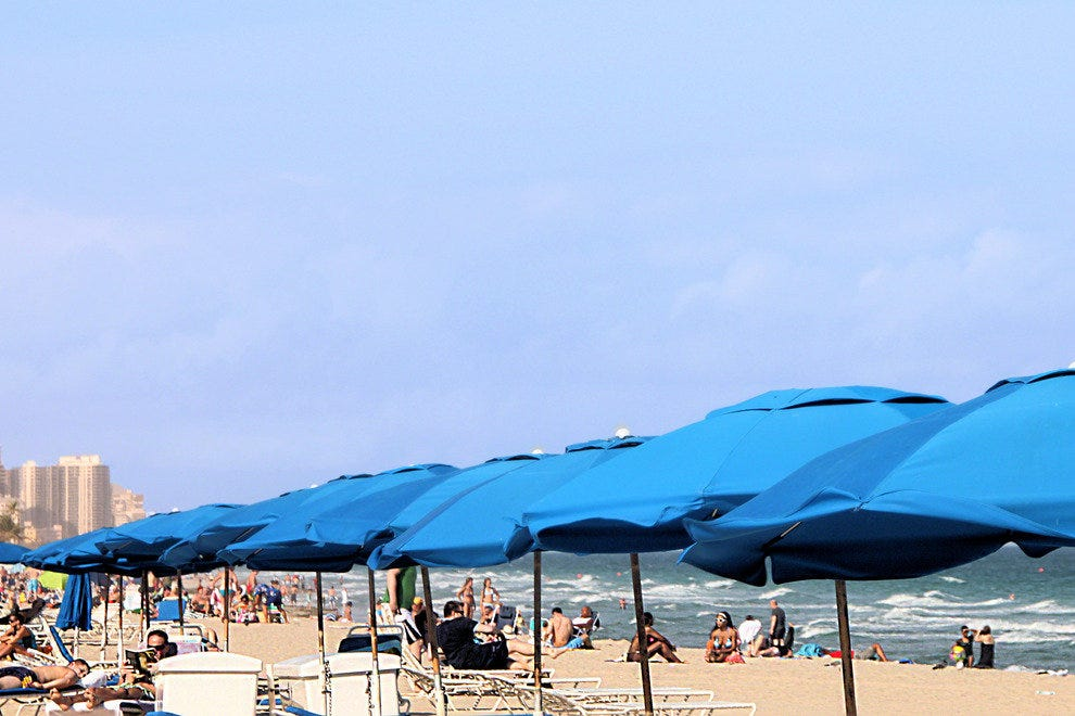 Fort Lauderdale, Beach Umbrellas