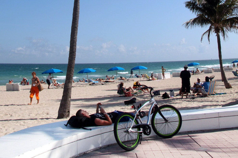 Fort Lauderdale, Biking