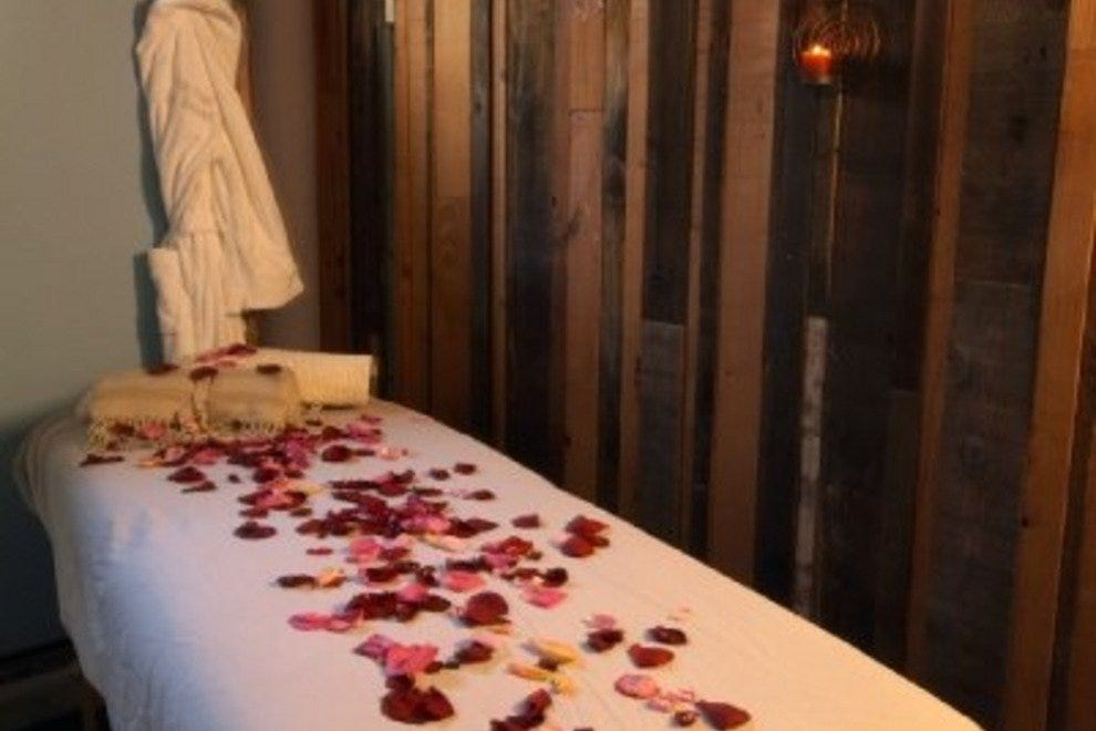The spa offers several different types of massage