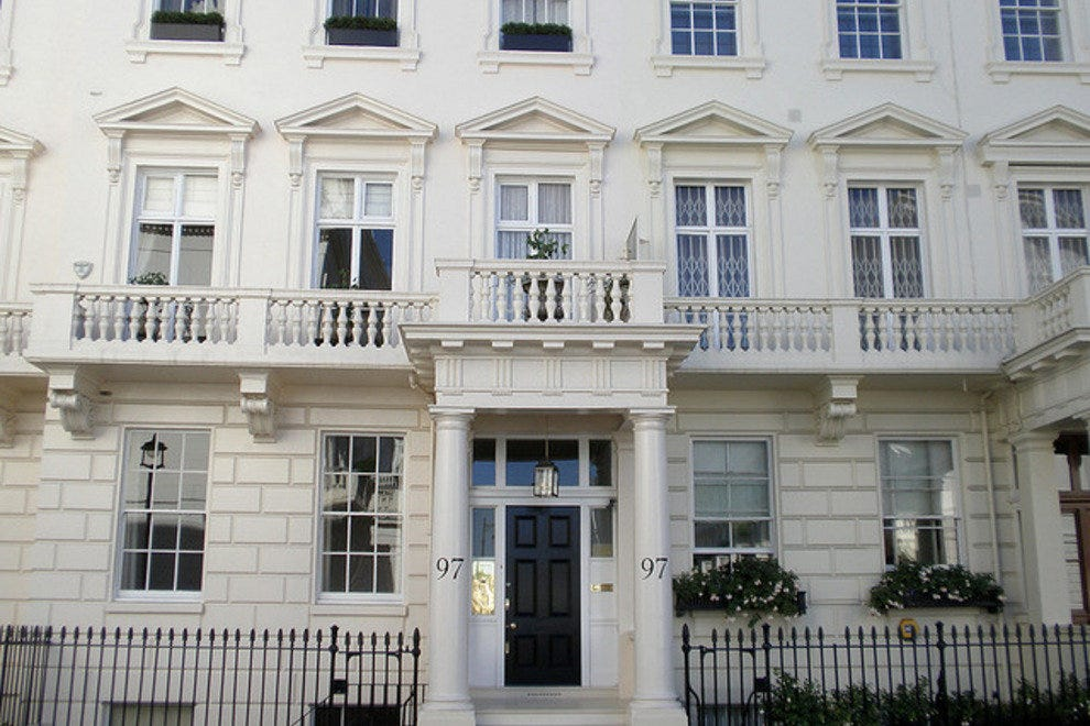 Belgravia, Smartest Streets in London