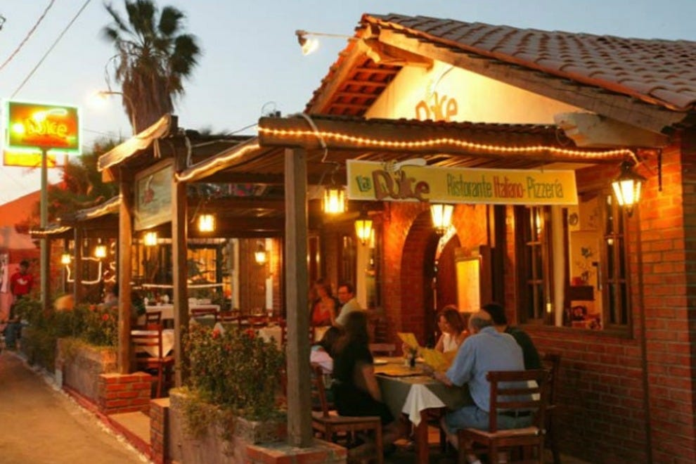 Italian Restaurant Cabo San Lucas Marina
