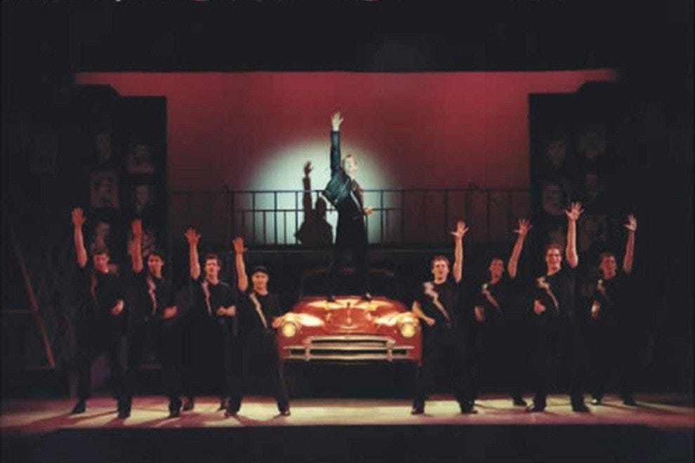 """Grease"" as recently performed at the Maine State Music Theatre"