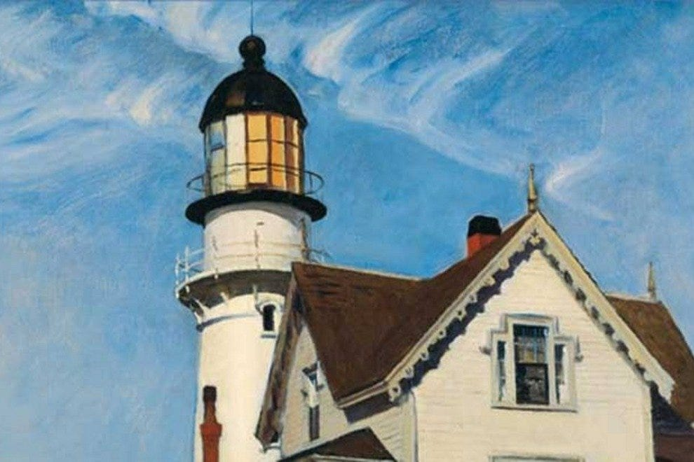 Bowdoin College Museum of Art recently presented an Edward Hopper retrospective