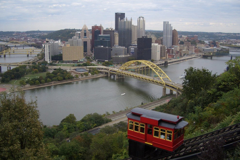 Duquesne Incline cable car