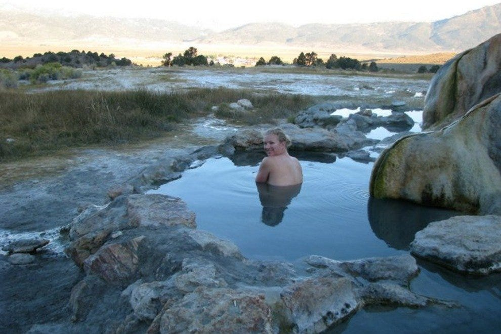 Camping Destination Hot Springs Of The Eastern Sierras