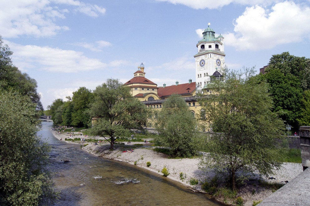 Müllersches Volksbad on the River Isar