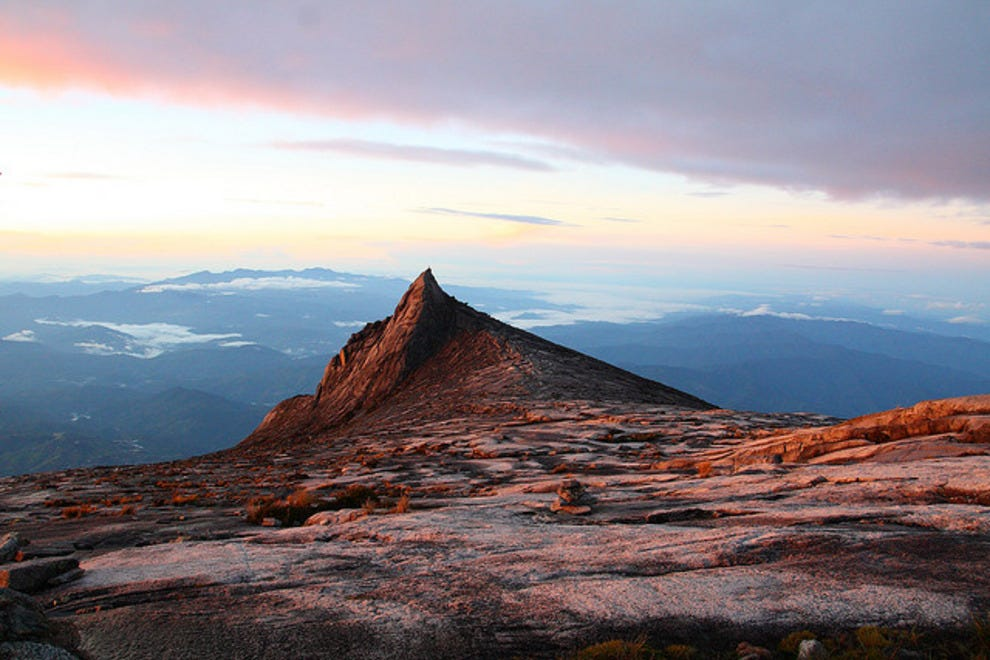 South Peak of Mt. Kinabalu, Borneo