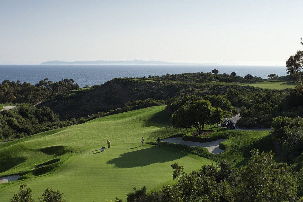 Pelican Hill Resort Golf Course, South 18th Hole