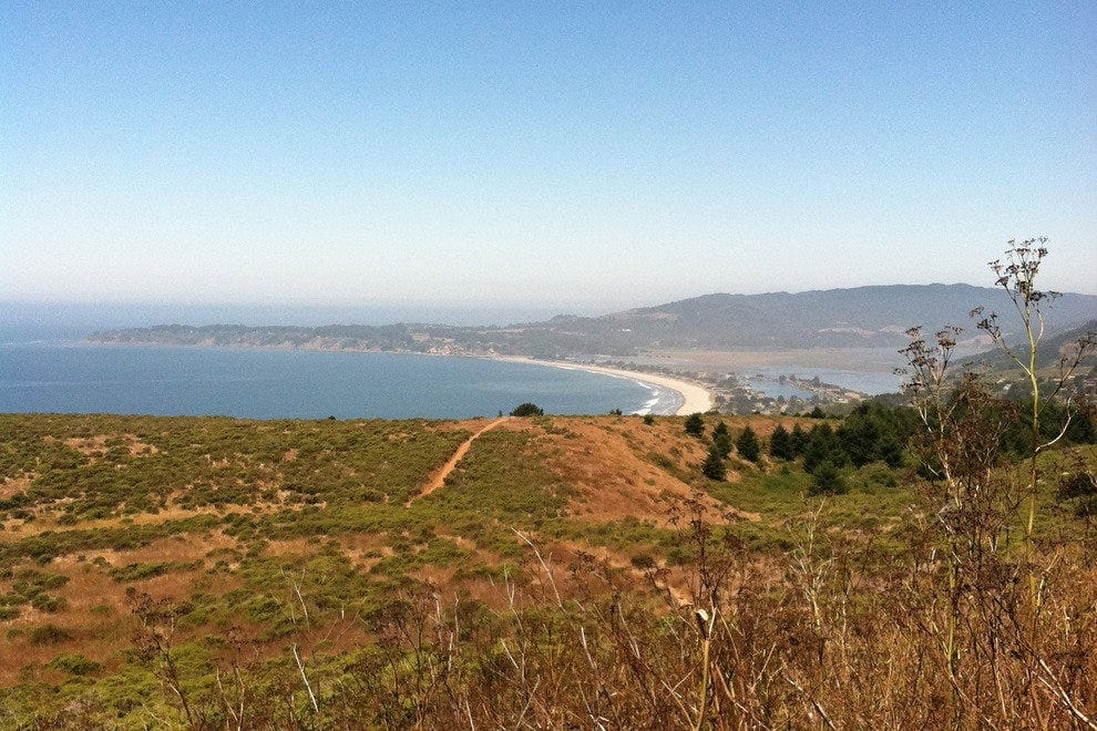 Stinson Beach from Matt Davis Trail