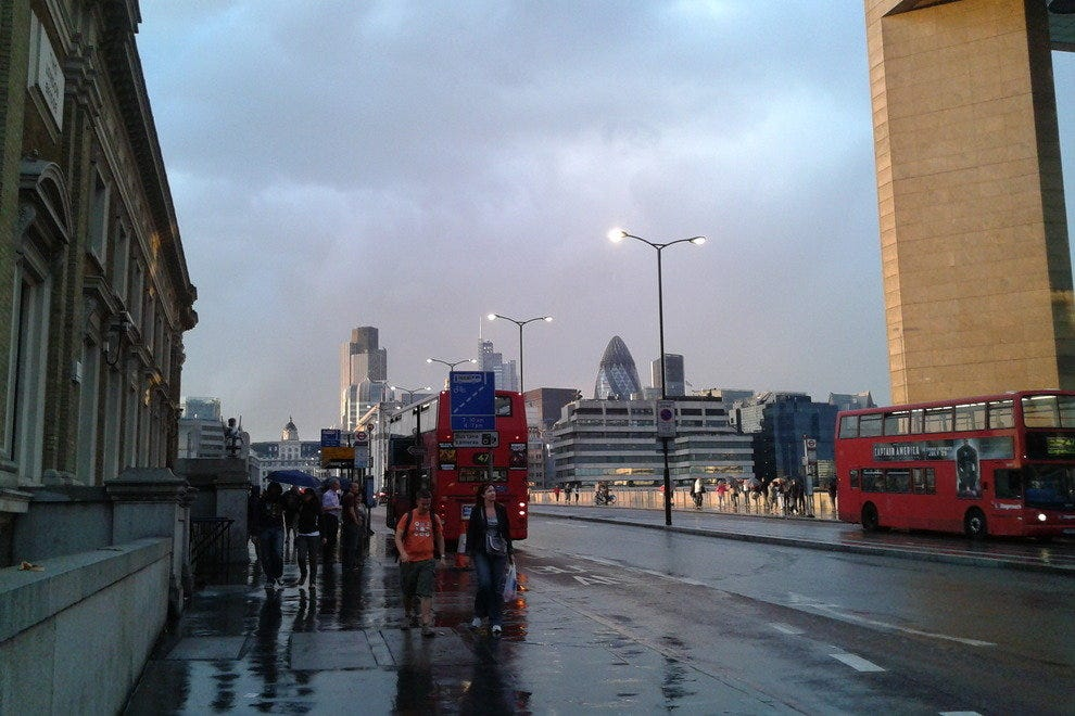 Rainy London Bridge