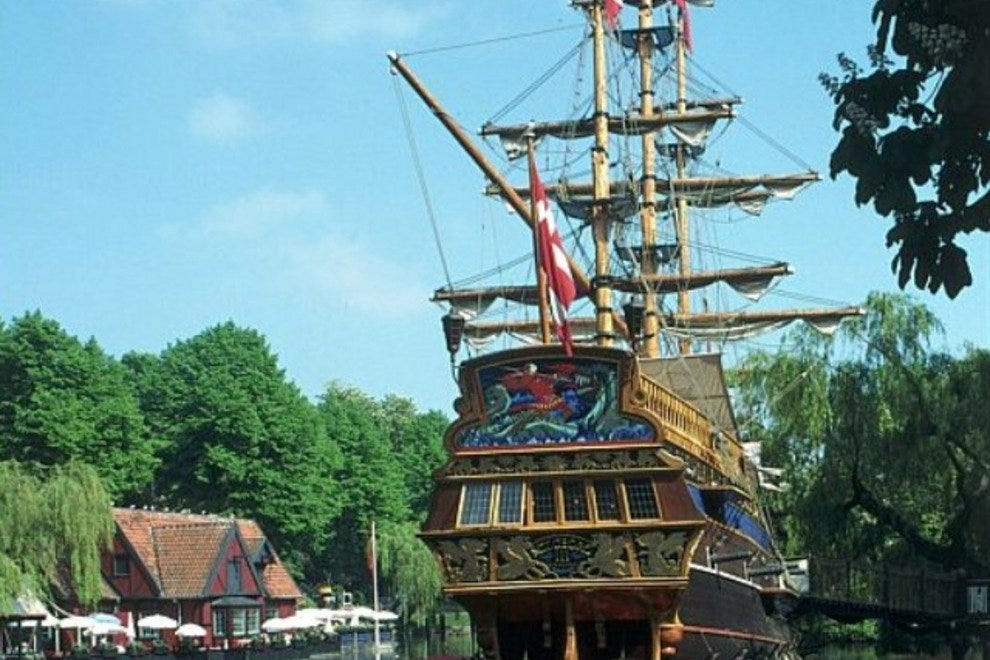 Tivoli's frigate has been taken by pirates.