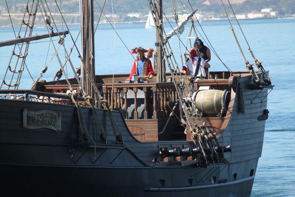 Ahoy Matey Tour San Diego Bay On Board A Pirate Ship Attractions Article By 10best Com