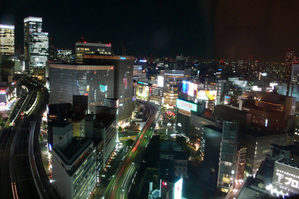 View from Tokyo's Imperial Hotel