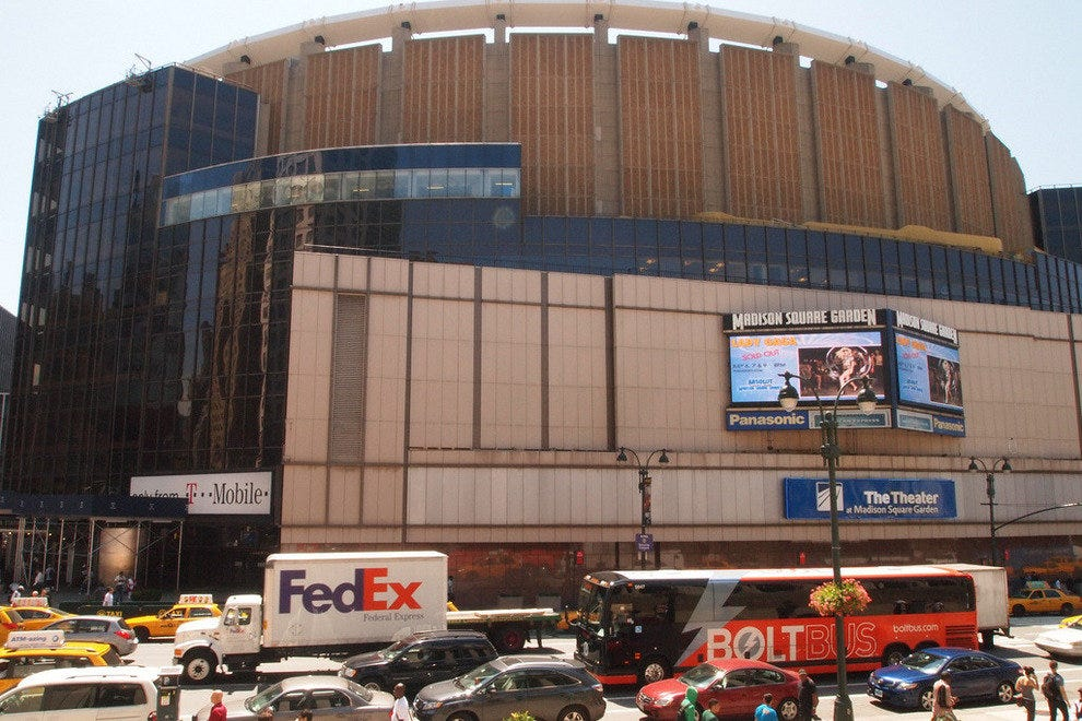 Madison Square Garden, where Marilyn sang to JFK