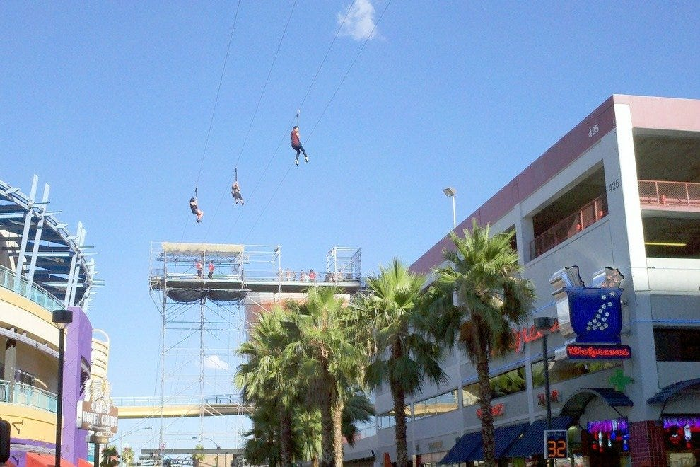 Flightlinez Fremont Zip Line Riders