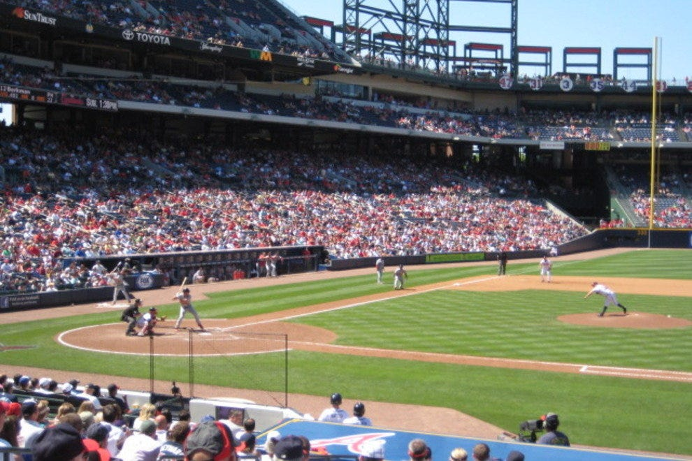 Baseball at Turner Field
